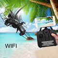 Mini Drone Headless DM003 Drone 2.4G 4CH 6-Axis Mini RC Gyro Quadcopter with 0.3MP WIFI Camera RC helicopter RC toy