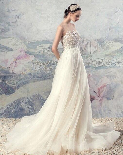 2016 Long Bride Dresses Vintage Cheap Maternity Wedding Dresses ...