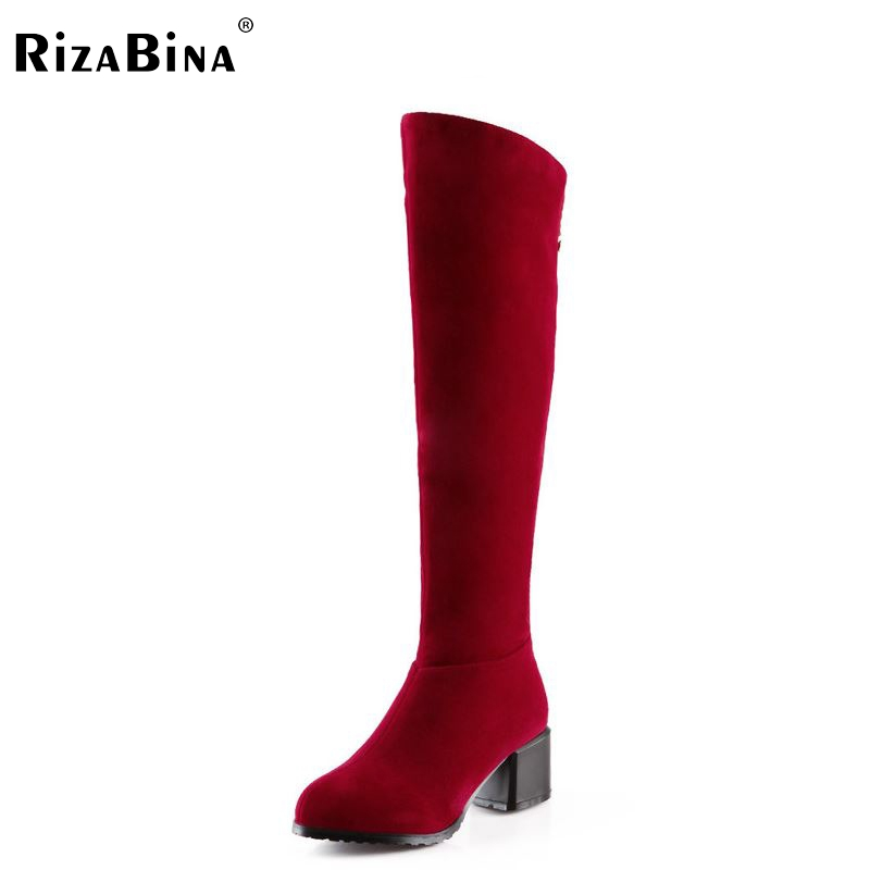 women high heel over knee boots riding winter warm snow botas fashion quality long boot heels footwear shoes P20071 size 32-43 size 31 45 women real genuine leather high heel over knee boots winter warm long boot riding quality sexy footwear shoes r8297