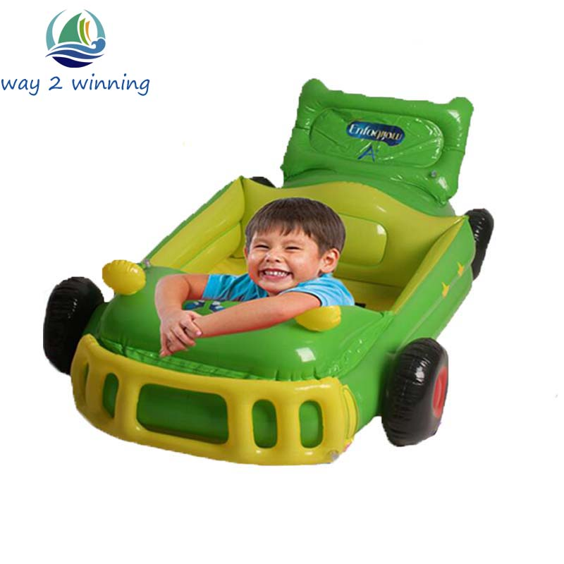 Giant Inflatable Ride On Cars 120*60*30cm Kids Racing Model Children Game Toys Birthday Gift For Boys Party Supplies Luchtmatras
