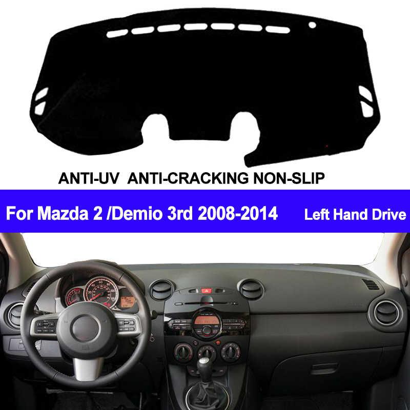 Grey Dashmat for MAZDA 2 DJ Genki 7//2014 on Dash Mat DM1372D