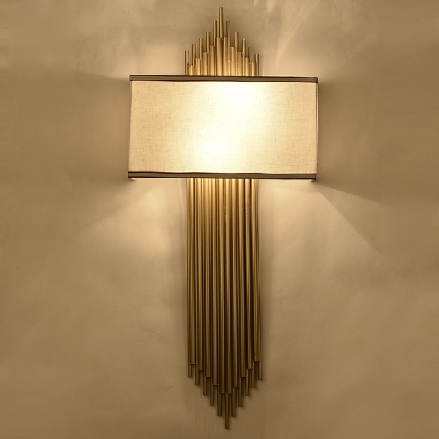 New Chinese style wall lamp Contemporary bedside light bedroom ...