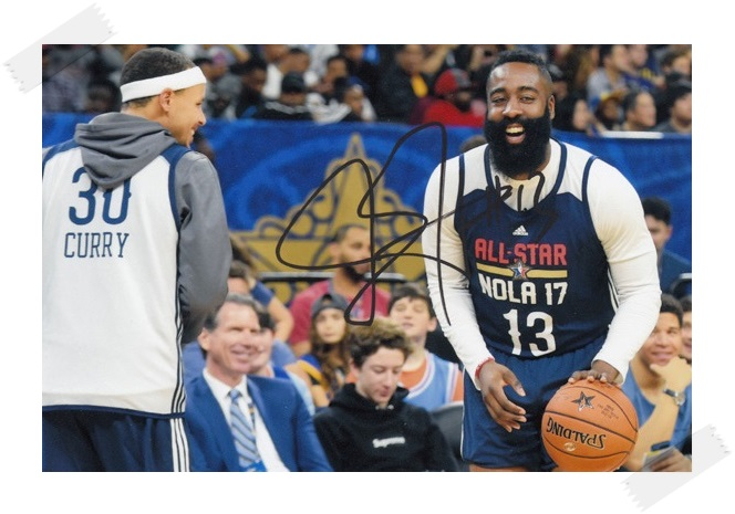 James Harden autographed signed with pen photo 4*6 inches  sports star  freeshipping 02.2017 signed cnblue jung yong hwa autographed photo do disturb 4 6 inches freeshipping 072017 01