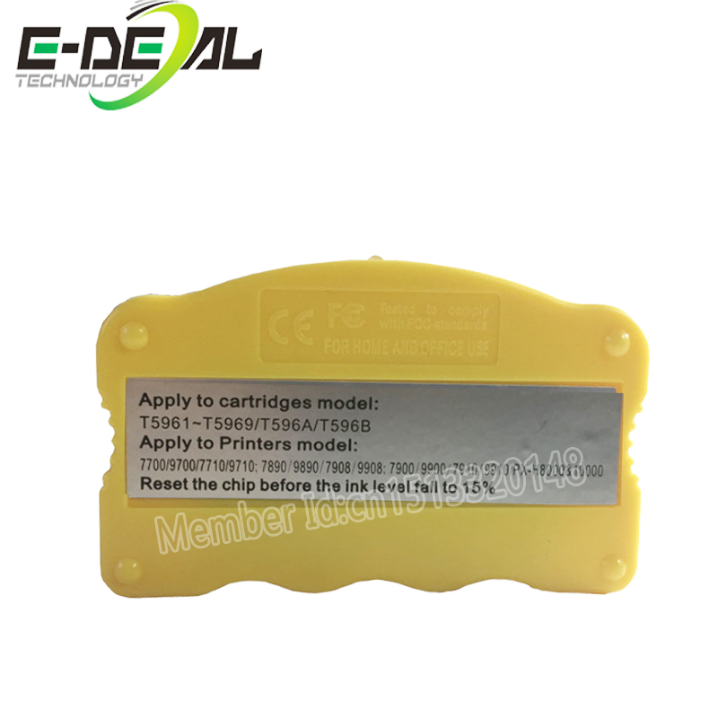 E-deal Ink Cartridge Chip Resetter For <font><b>Epson</b></font> 7700 <font><b>9700</b></font> 7710 9710 7890 9890 7908 9908 7900 9900 7910 9910 Cartridge Resetter image