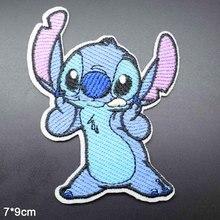 Одежда для девочек и мальчиков с длинными ушками и нашивками в виде голубого животного;