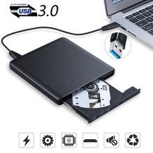 External USB 3.0 High Speed DL DVD RW Burner CD Writer Porta