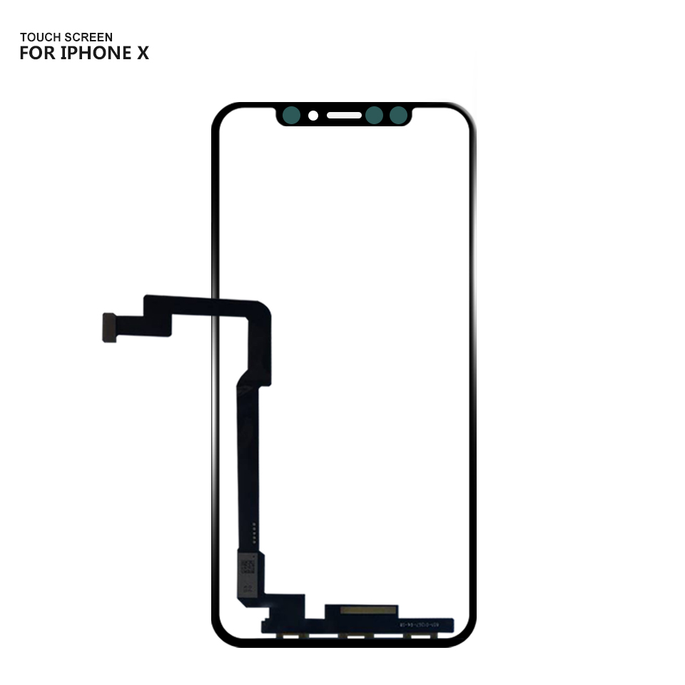 For iPhone X Touch Screen Panel Digitizer Glass Sensor Replacement For iPhone 10 iphoneX Touch screen