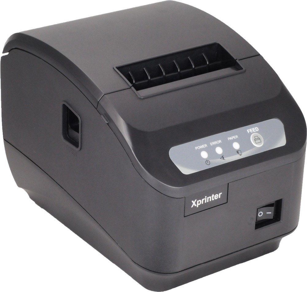 Free shipping pos printer 80mm thermal receipt ticket automatic cutter thermal receipt printer LAN / ethernet port or usb port thermal printer 80mm pos printer 80250vn receipt printer ethernet usb port