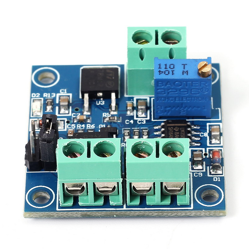 PWM to Voltage Converter Module 0%-100% to 0-10V for PLC MCU Digital to Analog Signal PWM Adjustabl Converter Power Module