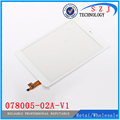 """Original 7.85"""" inch Tablet 078005-02A-V1 Touch Screen Panel Digitizer Glass Sensor Replacement Free Shipping only White"""