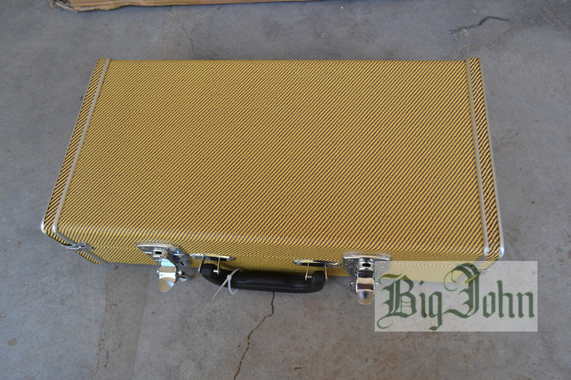 new Big John electric guitar hardcase in yellow  F-3317  110*37*10 big john модель 65d