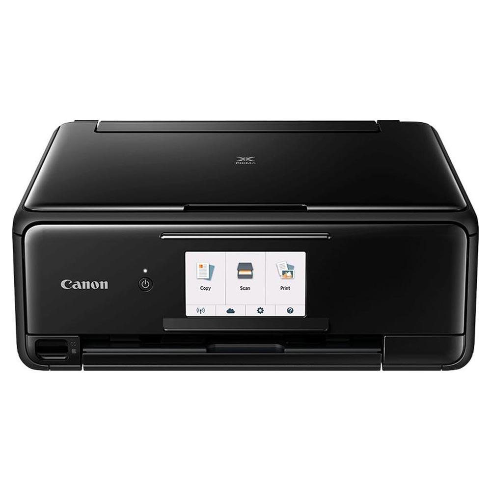 Printer Canon IJ AIO PIXMA TS8140 Computer & Office Office Electronics Printers label barcode printer upgrade 80mm pos thermal printer bills receipt printer multifuncional printers