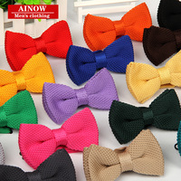 new fashion designer high quality Men Tuxedo Knitted Bowtie Bow Tie Pre-Tied Adjustable knitting Casual ties 240pcs/lot fedex