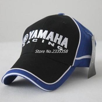 Men Women Snapback Caps black blue yamaha baseball cap New Motorcycle 3D sun Hats Бейсболка
