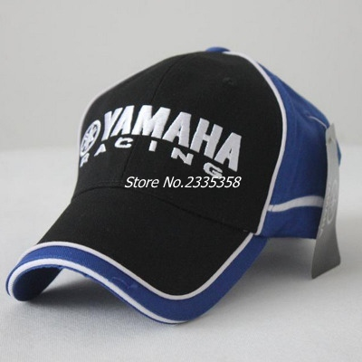 eeb76cf522d68 Men Women Snapback Caps black blue yamaha baseball cap New Motorcycle 3D  sun Hats