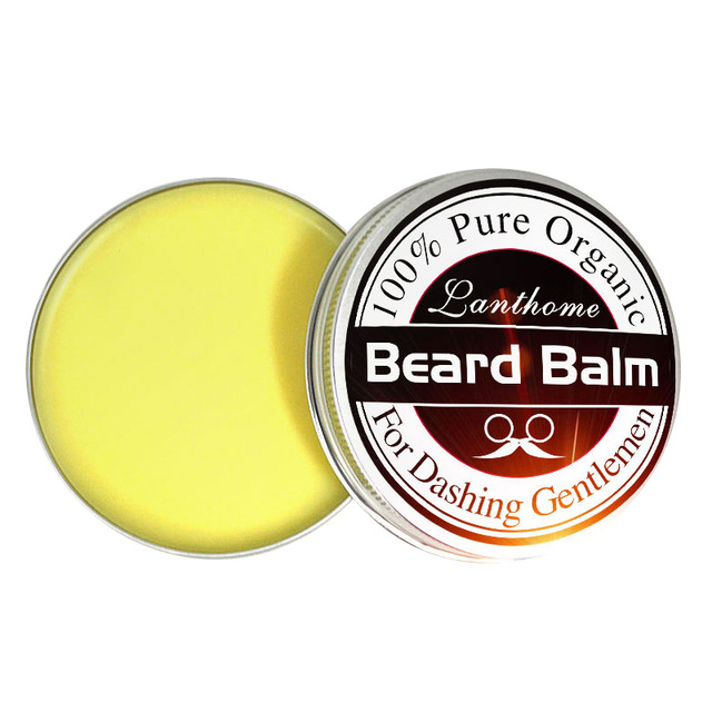 Professional Oil Care Moisturizing Conditioner Beard Balm Natural Conditioner Balm For Beard Moustache Growth Styling 1