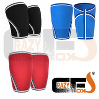 7mm Custom Compression 7mm Neoprene Knee Sleeve CROSSFIT WEIGHT LIFTING Sleeve