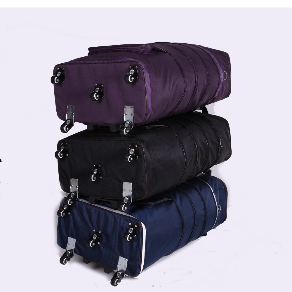 Light trolley checked bag male big capacity waterproof portable wheel bag travel bag,32 inch moving house trolley bag children clothing sets spring cotton girls clothing sets fashion high quality denim coat page 3