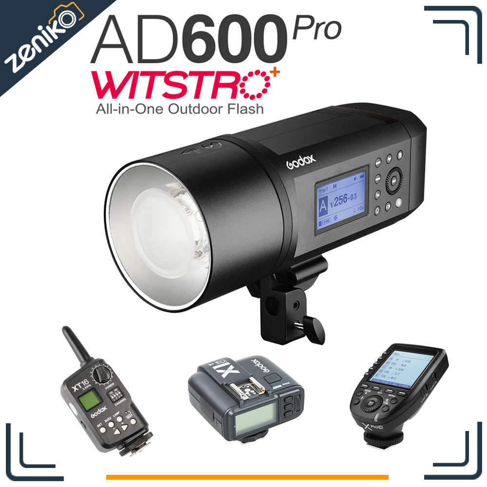 In stock!!! Godox AD600Pro WITSTRO AD600 Pro Portable Outdoor Flash 1/8000s TTL HSS 38W LED Bowens with Xpro X1 XT16 Trigger free tax to russia new 42cm godox ad s3 beauty dish with grid for witstro speedlite flash ad180 ad360