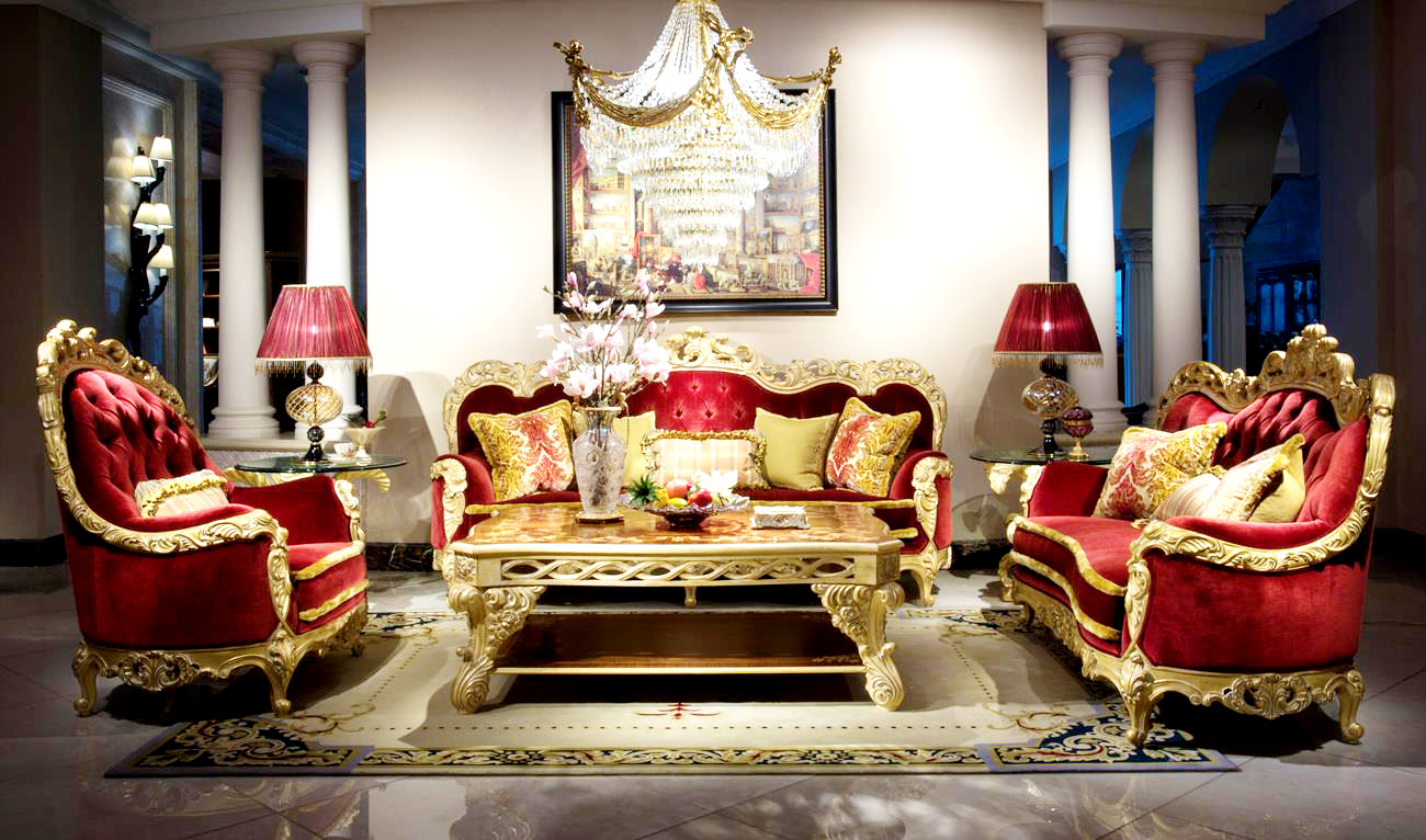 Luxury sofa set living room furniture from china Furniture Living Room Sets Modern House