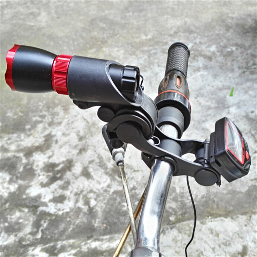 Mount-Bracket Bicycle-Headlight Computer-Holder Speedometer Bike-Handlebar-Install-Extender title=