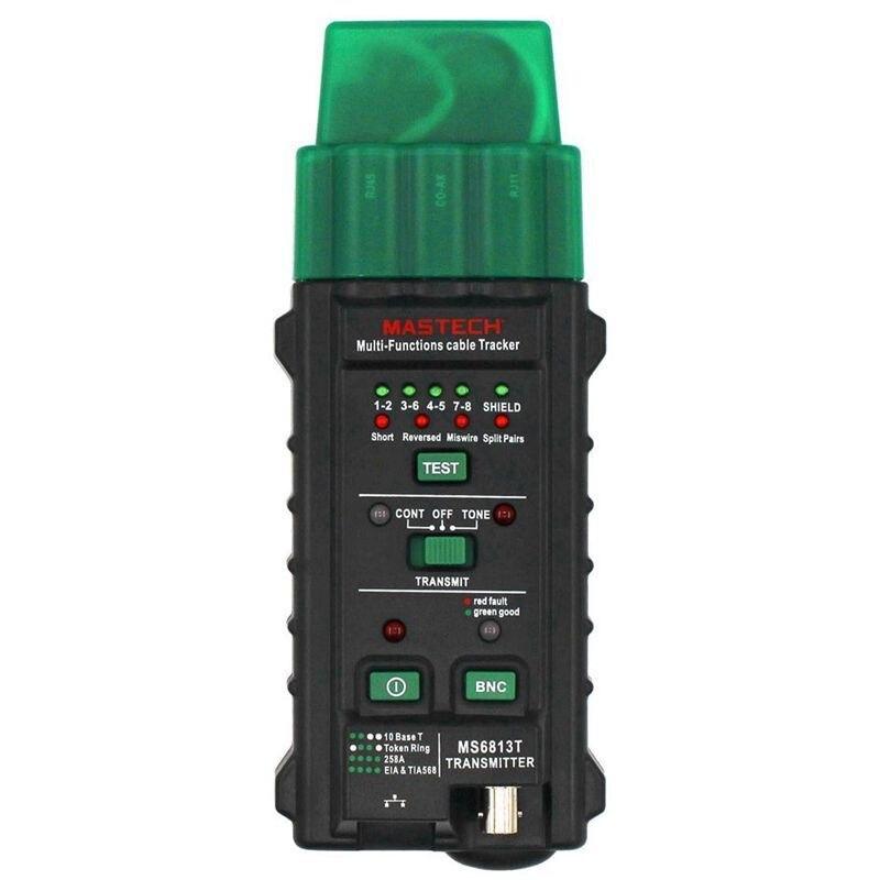 MS6813 Multi-fonction Réseau Testeur Recherche Fil Finder Réseau Fil Ligne D'inspection Téléphone Fil Vérifier RJ45