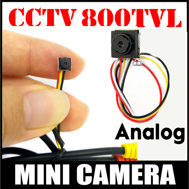 Security Camera Smallest HD CCTV Mini camera 800TVL CMOS small 6.5mm*6.5mm 12*12 Super small Camera for home security have cable