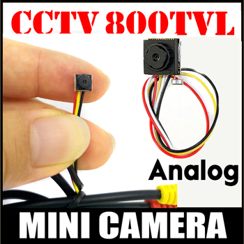 цена на Security Camera Smallest HD CCTV Mini camera 800TVL CMOS small 6.5mm*6.5mm 12*12 Super small Camera for home security have cable
