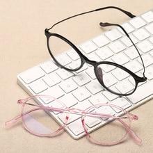 Blue Light Computer Glasses Women TR90 Clear Transparent Round Frame Men Vintage Eyeglasses Frames Spectacles Eyewear