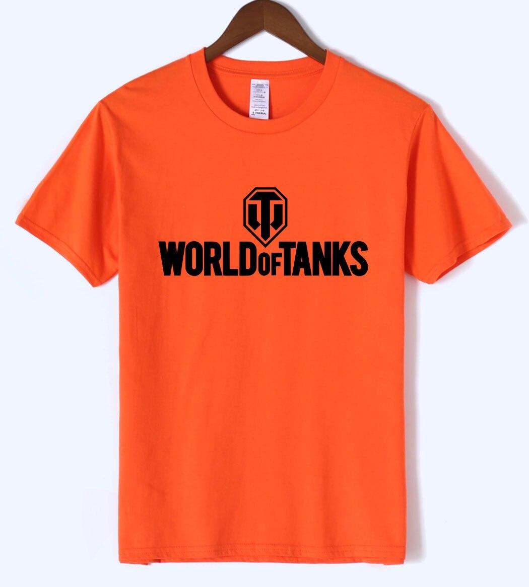 World Of Tanks 2019 Summer Print T-shirt Cool Undertale Fashion Mens T-shirts Brand Clothing Harajuku Top Tee Hip Hop Crossfit Men's Clothing