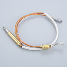Outdoor Patio Heater Thermocouple Sensor 350mm Groove Type 4.8mm Terminal With Anti-down Switch