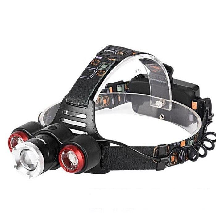 LED NIGHT LIGHT HEADLIGHT 18650 BATTERY INSIDE 10W HIGH BRIGHT HUNTING NIGHT FISHING WALKING