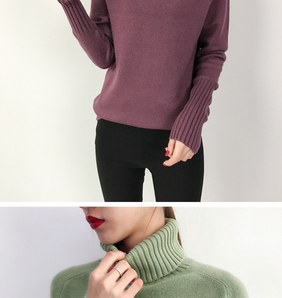 Surmiitro Sweater Female 19 Autumn Winter Cashmere Knitted Women Sweater And Pullover Female Tricot Jersey Jumper Pull Femme 10
