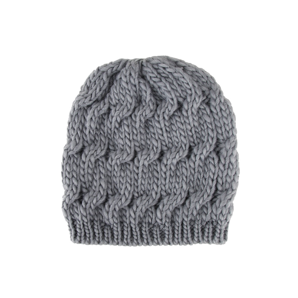 Fashion Women Hats Knitted Baggy Crochet Braided Skull Cap Ski Beanie  Autumn Winter Warm Hat For Girls-in Skullies   Beanies from Apparel  Accessories on ... a4c18c906a16