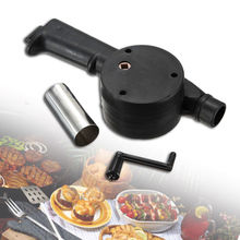 Fire-Fan Air-Blower Barbecue-Cooking Picnic Outdoor Camping Bbq Hand-Crank New