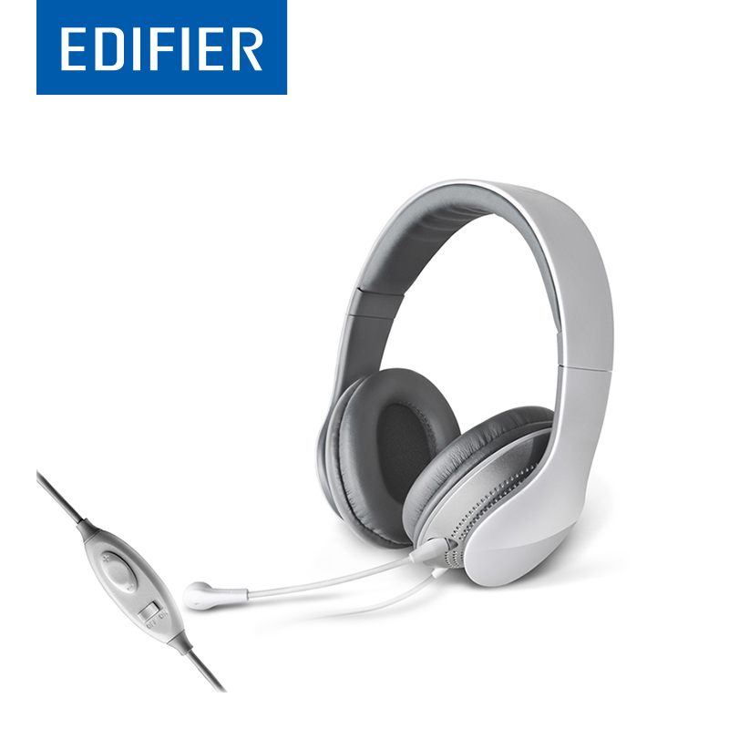 EDIFIER K830 Over-Ear HIFI Headphone Flexible Comfortable Over-Ear Game Headset Noise Canceling With Mic For Computer Multimedia game over