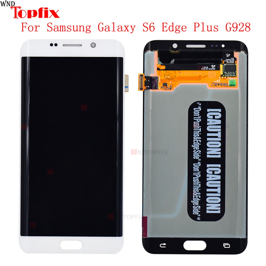 Lcd Display Touch Screen DigitizerAssembly For Samsung Galaxy S6 Edge Plus G928F G928A G928I Super AMOLED LCD Replacement Parts (5)