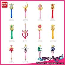 PrettyAngel מקורי Bandai 20th יום השנה Gashapon Guardian Sailor די ירח קריסטל שרביט קסם Henshin מוט & מקל
