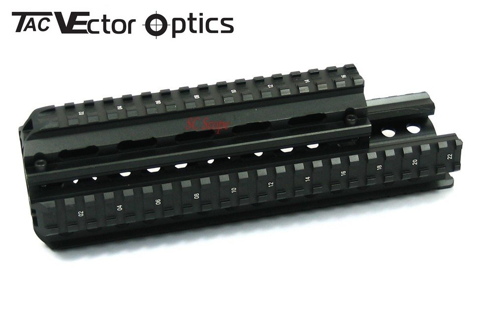 SAIGA 7.62X39mm Tactical Picatinny Handguard Quad Rail System NIB Compact S39 Mount free shipping saiga12 tactical quad rail system fits saiga 12 ga and compatible variants free black rubber guards
