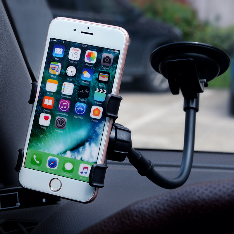 Car Phone Holder Windshield Car Sucker Mount Bracket For IPhone 11 Pro Max XS MAX 8 7 6 Samsung S10 GPS Car Phone Holder Stand