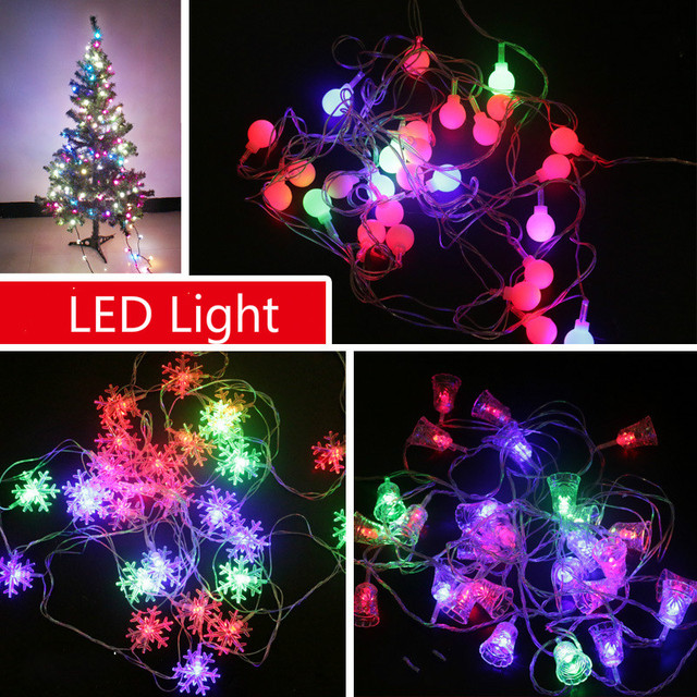 4 m 28 led verlichting kerstboom sneeuw ster lampen led string light xmas party fairy