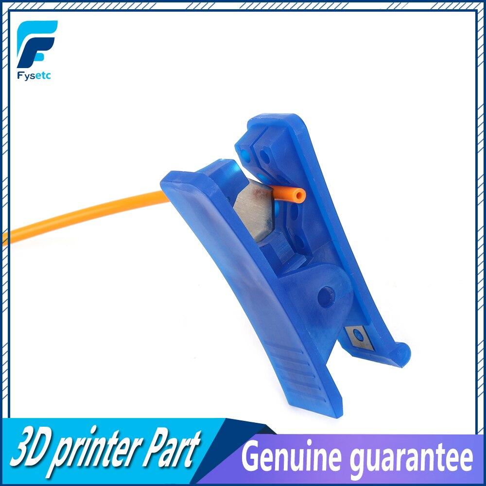 Tube Cutter Nylon PVC PU Rubber Silicone Plastic Tube And 1M PTFE Tube Teflonto TL-Feeder ID 1.9mm OD 4mm Clone Capricornus Tube