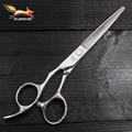 Ножницы для левшей KUMIHO 440C, Япония, 6 дюймов, профессиональные ножницы для стрижки волос, парикмахерские, профессиональные