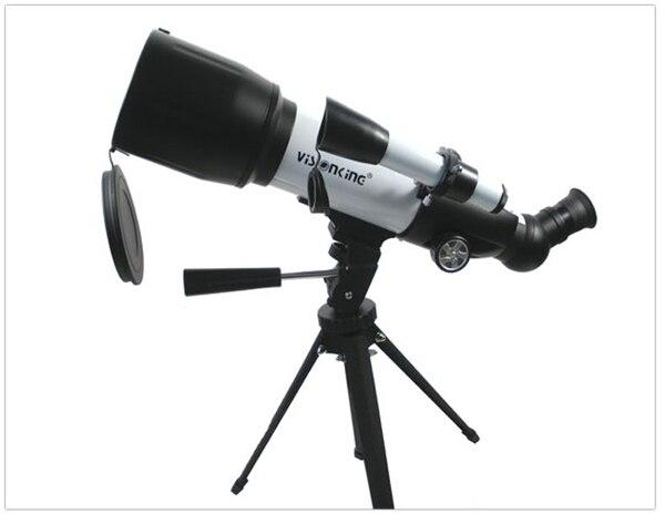 Visionking 70350cf refractor astronomical telescope k9mm 40x k25mm