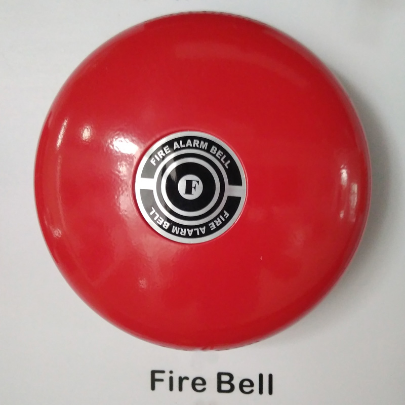 Fire Alarm Bells DC24V 6 Inch Bell Electric Fire Bell For Fire Alarm Security Sytem