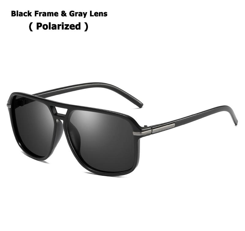 Black Gray Polarized