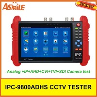 7 Inch Capacitive Touch Screen IP Analog HD Coaxial Tester 12V2A 5V 2A Power Bank PoE
