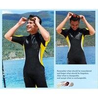 Men's Shorty Wetsuit 2.5mmNeoprene One piece Jump Suit Wet Suit Back Zipper Watersport / Diving / Snorkeling Men/Women