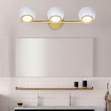 (مصدر مصباح ليد تشمل) الشمال وحدة إضاءة LED جداريّة ضوء دافئ/الباردة/الطبيعية الأبيض الجدار مصباح الحمام مصباح ل مرآة أسود/أبيض بهو