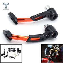 """7/8"""" 22mm CNC Motorcycle Proguard System Brake Clutch Levers Protect Guard For Ducati monster 400 620 monster 620mts monster 696"""